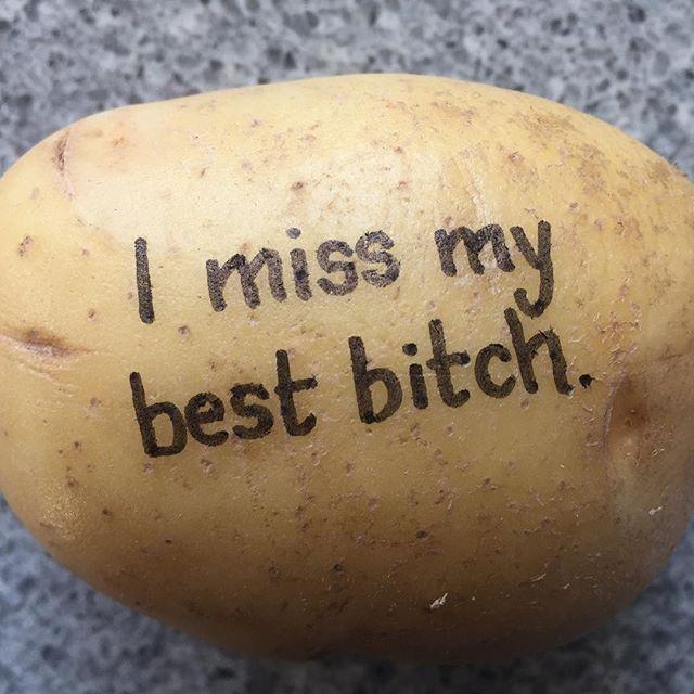 Vem saknar du? Berätta med en potatis! #postapotatis