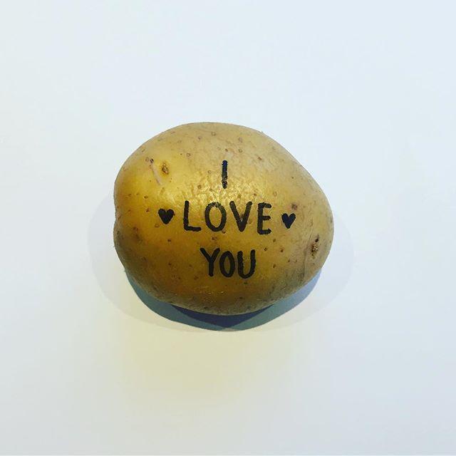 Vem älskar du? #allahjärtansdag #postapotatis